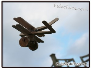 KidsChaosLolly-bi-plane-craft-in-sky
