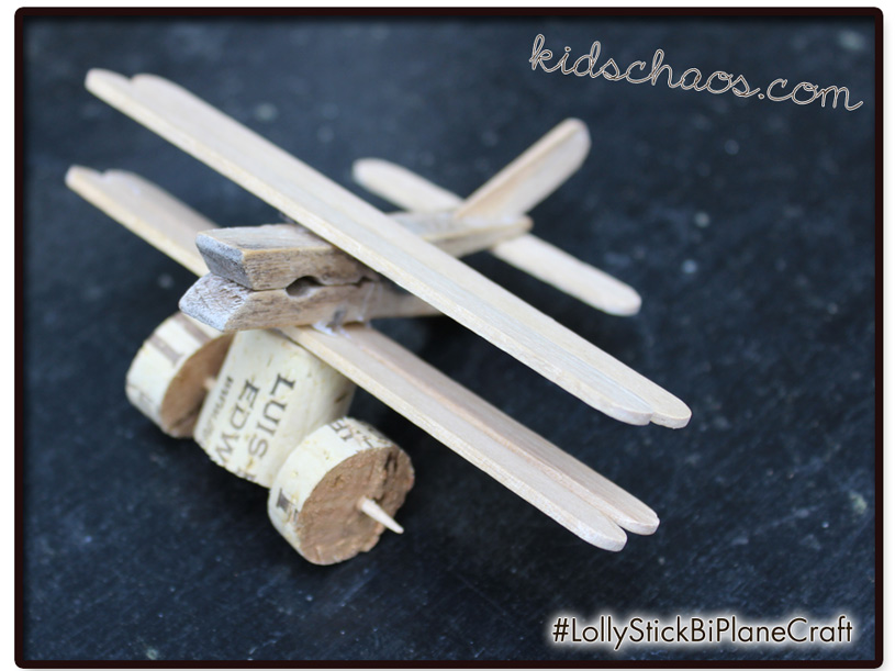 KidsChaosLolly-bi-plane-craft-with-cork