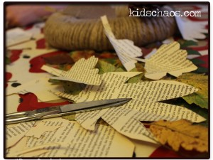 KidsChaos-book-paper-wreath-2