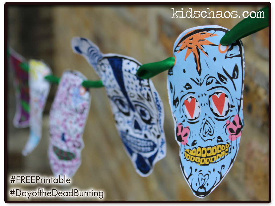 Day of the Dead FREE Printable bunting
