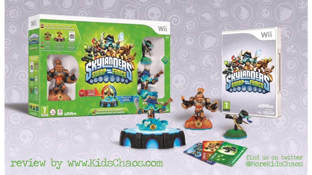 Skylanders Swap Force Kids Chaos review