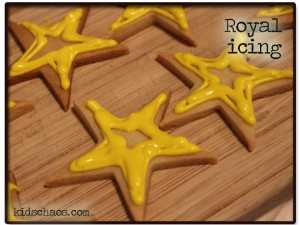 royal icing flooding