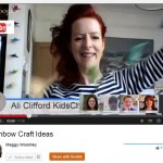 rainbow craft google plus hangout