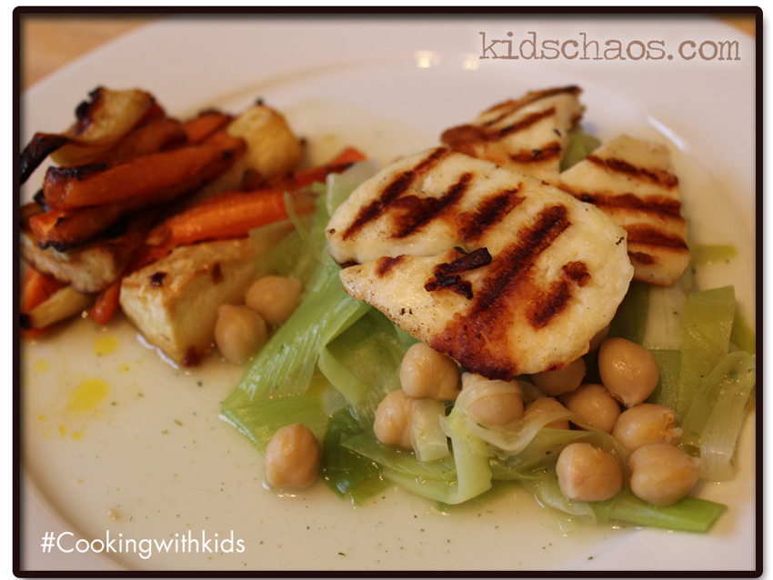 KidsChaos Leek Chick Pea Carrots Parsnips recipe