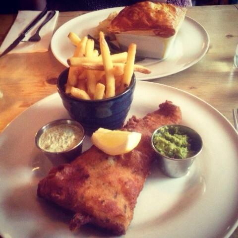 Crown and Anchor fish and chips