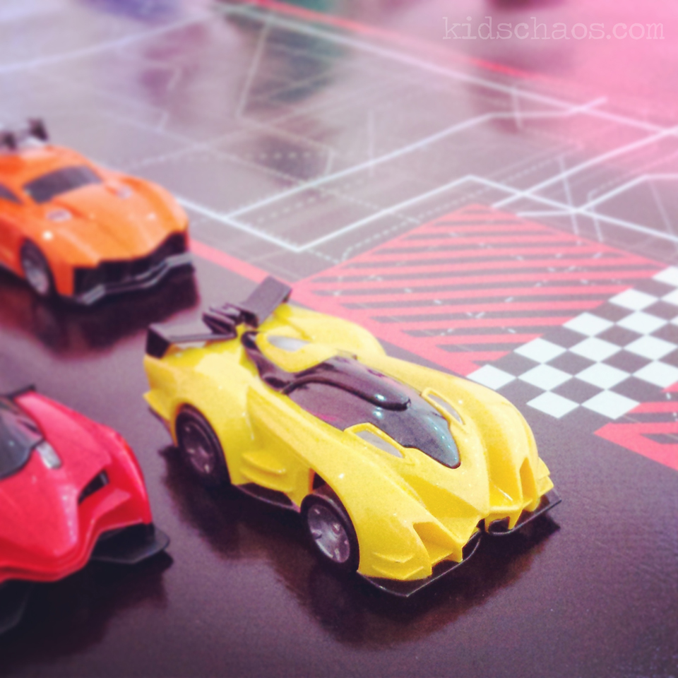 Anki Drive robotic race cars