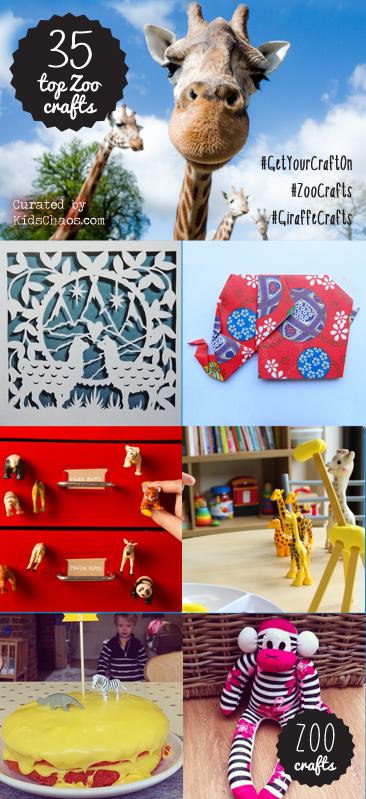 Top 35 Zoo Crafts
