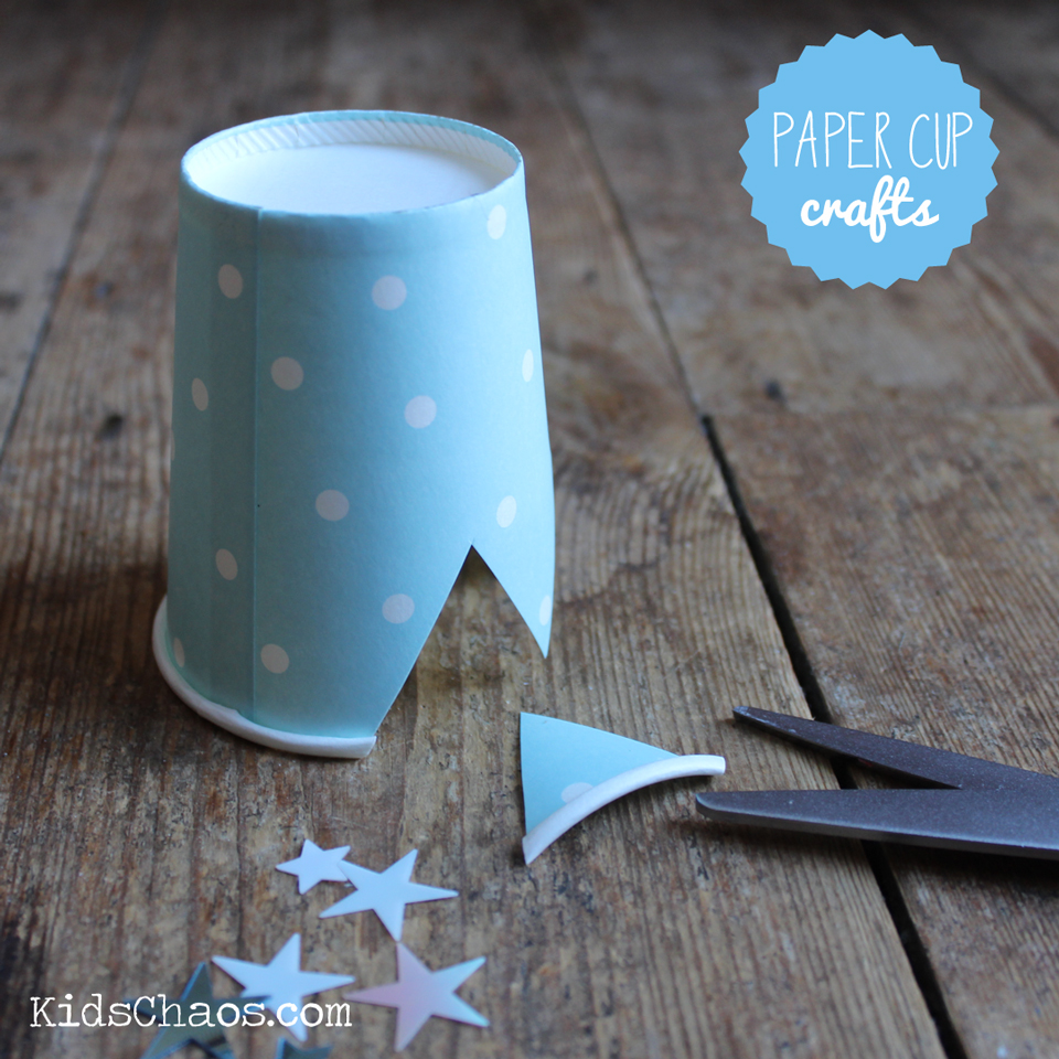 Stage 1 Paper Cup Crown