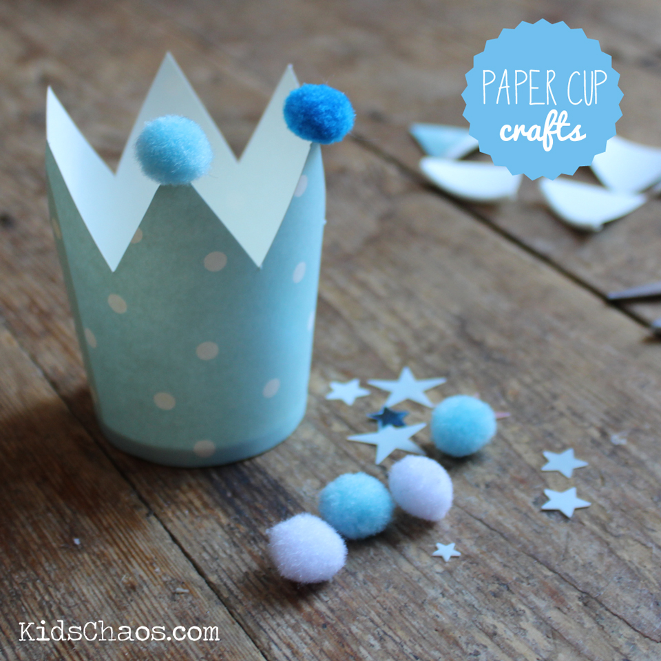 Stage 2 Paper Cup Frozen Crown