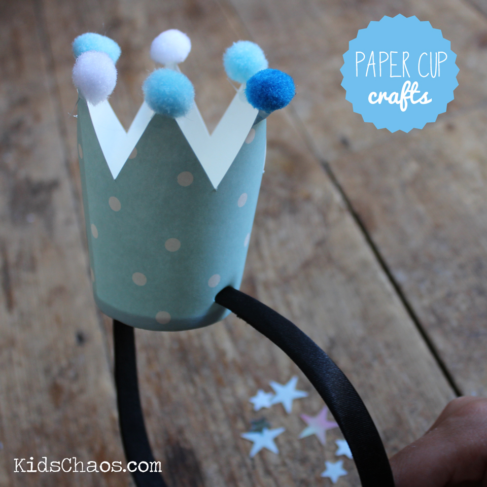 Paper Cup Frozen Crown