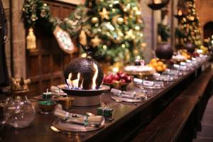 Hogwarts in the snow Christmas Dinner
