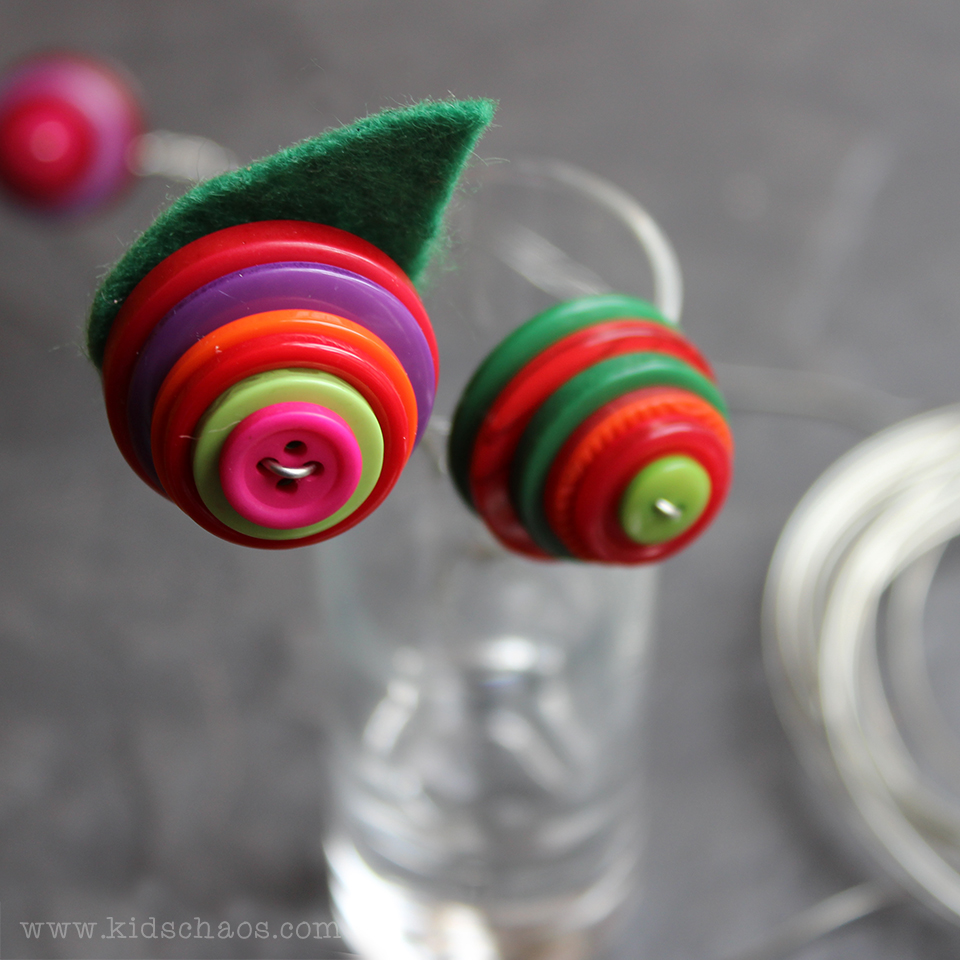 Button Crafts for Get Your Craft On Challenge
