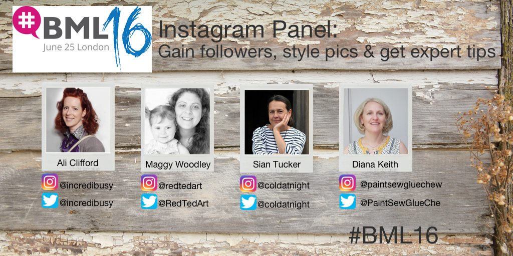BritMumsLive 2016 Instagram Panel