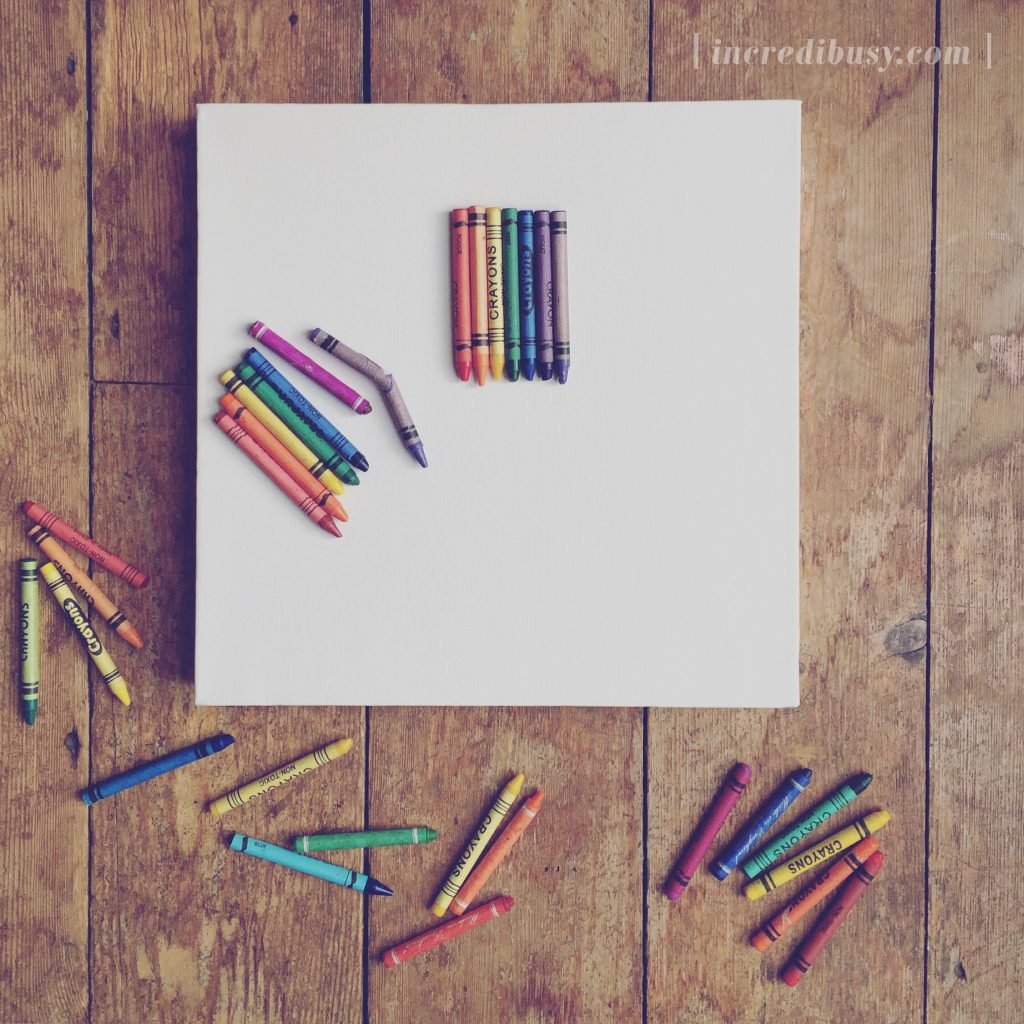 How to melt crayons into a rainbow!