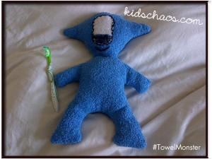 TowelMonsterKidsChaos