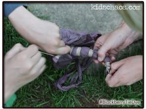 BlackberryTieDyeKidsChaostakingoffelasticbands