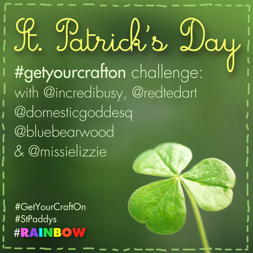 get your craft on St Patrick's Day