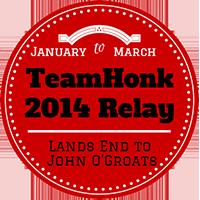 teamhonkrelay badge