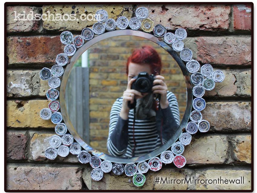 KidsChaos-Mirror-paper-spirals-selfie