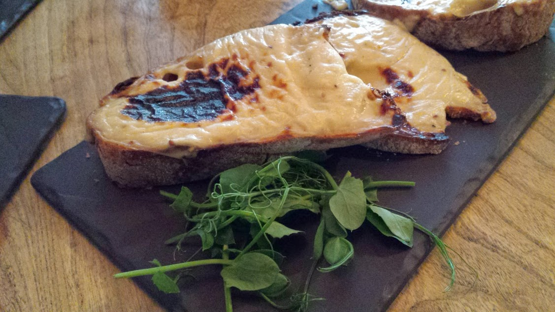 Crown and Anchor welsh rarebit