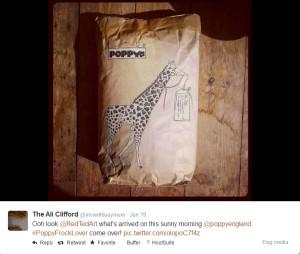 PoppyEngland parcel