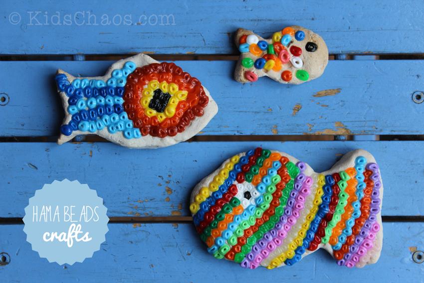 Melted Hama Beads and Perler Bead Craft - KidsChaos.com