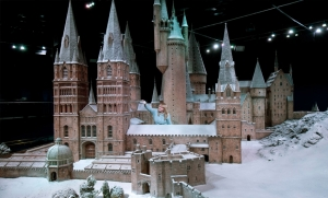 Hogwarts in the snow castle