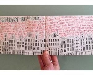 Jennie Maizels sketchbook spread 2