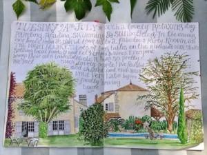 Jennie Maizels sketchbook spread