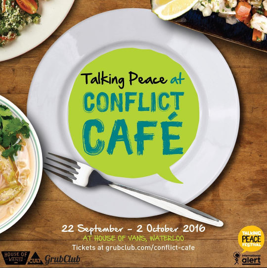 Eating for peace – Conflict Cafe