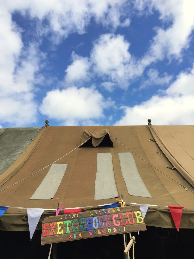 jennie-maizels-tent-at-the-goodlife-experience